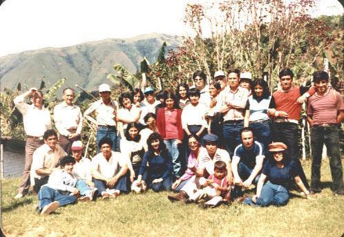 Padre Guillermo 008_Convivencia en 1978 Chachagui Antonio Ayala