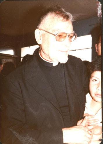 Padre Guillermo 008_Despedida Italia 1984  Antonio Ayala