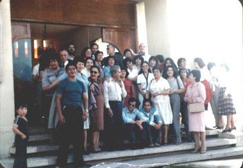 Padre Guillermo 008_Despedida Viaje Italia 1978 Antonio Ayala