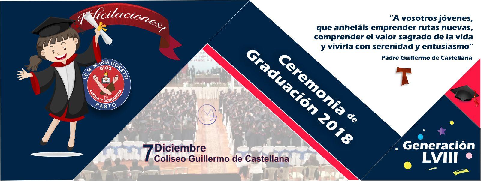 Graduación Bachilleres 2018