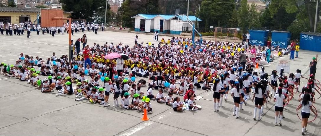 Inauguración Campeonato Intercursos Jornada de la Tarde