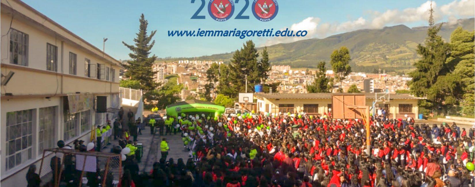 Bienvenidas Estudiantes Gorettianas